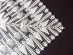 Natural or Ecru Crochet Tablecloth Square Lace Table Centerpiece OOAK Topper Shabby Chic Home Decor Bridal Shower Gift