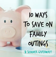 Don't let finances prevent you from exciting explorations outside the house! Here are 10 Ways to Save on Family Outings! Bring on the good times :) - TheLittleTourist.com