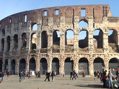 Coliseum Scottish Tattoos, Brooklyn Bridge, Cool Tattoos, Rome, Places, Travel, Viajes, Coolest Tattoo, Destinations