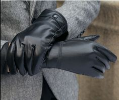 Fashion Leather gloves, Genuine Leather Market Hood Item Type: Gloves & Mittens Pattern Type: Solid Style: Fashion Department Name: Adult Gender: Men Material: Genuine Leather Gloves Length: Wrist Black Leather Gloves, Leather Men, Lambskin Leather, Driving Gloves, Mittens Pattern, Mens Gloves, Mitten Gloves, Women's Accessories, Black And Brown