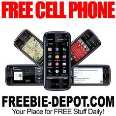 ►► FREE Cell Phone + FREE Minutes + FREE Texting ►► #Free, #FREEStuff, #Freebie, #Frugal ►►