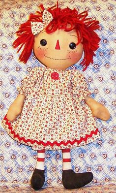 Image detail for -pattern 3397 betsy mccall rag doll free printable calendarss