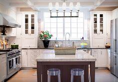 Project kitchen - traditional - kitchen - newark - by Town & Country Kitchen and Bath Country Kitchen Backsplash, Kitchen Countertops, Kitchen Cabinets, White Cabinets, Bath Cabinets, Backsplash Tile, Carrara Marble Kitchen, Marble Tiles, White Kitchen Appliances