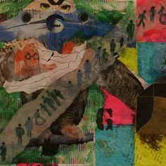 """""""Anticorpos"""" Detail 2015 Slop #collageart #collageartwork #collageartist"""