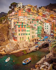 RIOMAGGIORE: 3 of 5 Beautiful Villages of La Cinque Terre