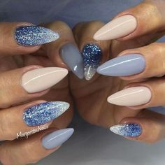 64 Best Almond Nails! View them all right here -> | http://www.nailmypolish.com/almond-nails/ | @nailmypolish