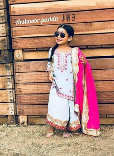 parleen Punjabi Suits, Salwar Suits, Baby Girl Dresses, Girl Outfits, Kids Indian Wear, Cute Little Baby Girl, Stitching Dresses, Baby Dress Design, Beautiful Suit