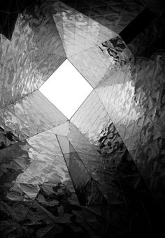 Black and White Skylight Gothic Architecture, Facade Architecture, Fantasy Landscape, Beautiful Buildings, Skylight, Light And Shadow, Beautiful Artwork, Textures Patterns, Black And White Photography