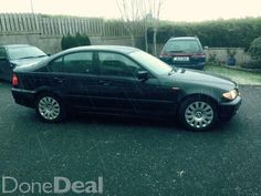 Black BMW 320D NCT 06/15