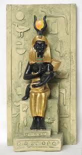 The Black Madonna and child Isis the queen of heaven. Today the Roman Catholic Church worship Isis as Mary the mother of their god.