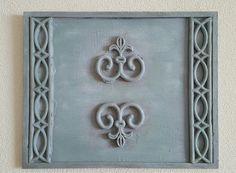 Lijst...rubber mat...vulmiddel...krijtverf en boenwas. Frame, Home Decor, Picture Frame, Decoration Home, Room Decor, Frames, Home Interior Design, Home Decoration, Interior Design