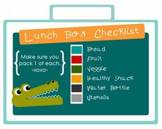 Lunch help for sack lunches