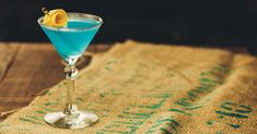 Corpse Reviver No. Blue .75 oz London dry gin .75 oz Blue curaçao .75 ...