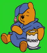 Pooh loves hunny!