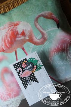 Yvonne is Stampin' & Scrapping: Stampin' Up! Sneak Pop of Paradise #stampinup