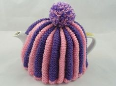 Hand knitted tea cosy pattern free free knitting patterns ptea dt1010fo