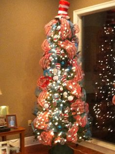 dr seuss christmas tree by deanna