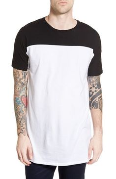 ZANEROBE Colorblock Longline T-Shirt
