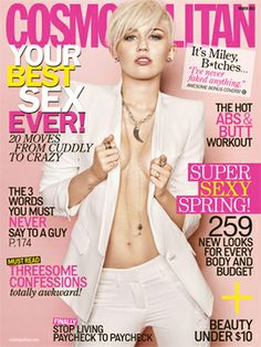 Miley Cyrus is our March cover girl! Click through for an exclusive interview & behind-the-scenes video