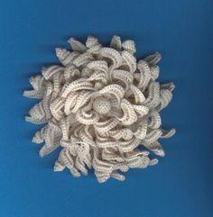 Irish_Crochet_love the texture Freeform Crochet, Thread Crochet, Crochet Motif, Crochet Stitches, Knit Crochet, Russian Crochet, Irish Crochet, Crochet Flower Patterns, Crochet Flowers