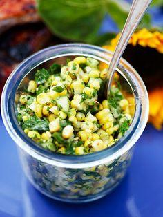 5 goda tillbehör till grillat | ELLE Mat & Vin Summer Recipes, Great Recipes, Main Dishes, Side Dishes, Slow Food, Foods To Eat, Food Inspiration, Carne, Healthy Snacks