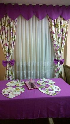 Drapes Curtains, Modern Curtains, Valance, Drapery D … Cute Curtains, Beautiful Curtains, Modern Curtains, Drapes Curtains, Decorative Curtains, Bedroom Curtains, Kitchen Curtains, Unique Window Treatments, Bed Cover Design