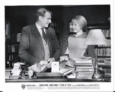 "Laurence Oliver & Sarah Miles 1962 PR Movie Stills ""Term Of Trial"" -  8x10 B/W"
