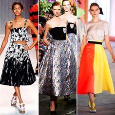 Spring 2014's Trending Skirt Styles