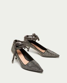 Diamond shoes zara