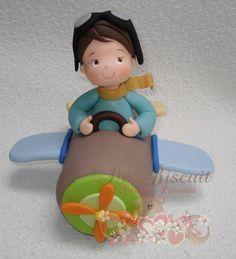 Aviador do tema Pequeno Príncipe | De Biscuit | 2C4CA1 - Elo7