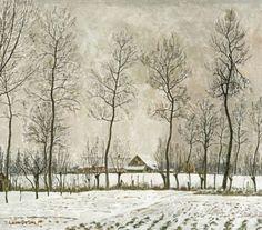 Leon De Smet, Winter in Flanders