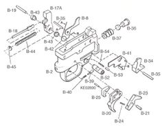 Ruger 10-22 Trigger Exploded View