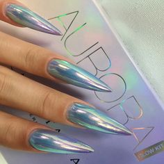 Best Stiletto Nails Designs, Ideas, Tips, For You – Long Nails – Long Nail Art Designs Stylish Nails, Trendy Nails, Hot Nails, Hair And Nails, Acrylic Nail Designs, Nail Art Designs, Crome Nails, Stiletto Nail Art, Simple Stiletto Nails