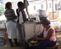 Fufu in Ghana