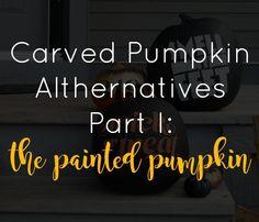 painted pumpkin idea