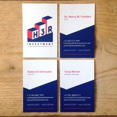 In samenwerking met Bob de Webbouwer kwam het logo van H3R Investment tot stand. De complete huisstijl hebben we verwerkt in de visitekaartjes, briefpapier, een powerpoint presentatie en natuurlijk ook op de website.