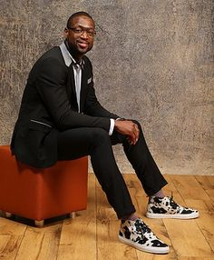 Dwyane Wade, NBA Baller- Always Dapper...