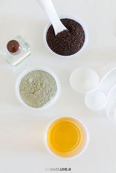DIY Simple Coffee-Mud Face Mask6