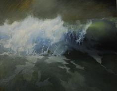 Beth Robertson Fiddes - West Beach Wave