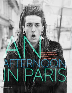 An Afternoon In Paris - By Sean P. Watters http://www.glamoholic.com/15/42.html #fashion #men #male #models #street #paris #editorial #photography #glamoholic #magazine