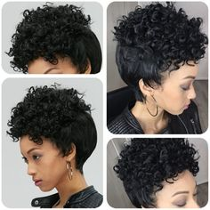 Adiors Pixie Cut Short Curly Side Bang Synthetic Wig #>=#>=#>=#>=#> Click on the pin to check out discount price, color, size, shipping, etc. Save and like it!