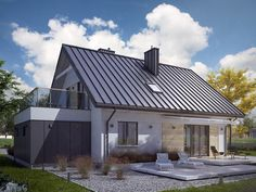 Porches, Style Cottage, Traditional House, Garden Landscaping, Beautiful Homes, House Plans, Shed, New Homes, Construction