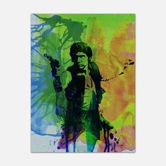Han Solo 18x24, $35, now featured on Fab.