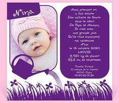 Faire-part naissance réf. N31006 chez monFairePart.com