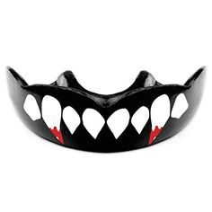 Bloody Beast Fang Teeth Mouth Guard w Free Storage Case by Warrior Mouthguards Youth *** Check out the image by visiting the link.Note:It is affiliate link to Amazon.