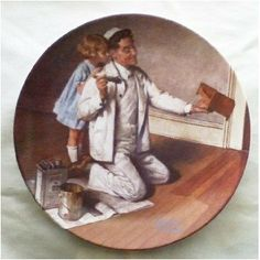 Norman Rockwell Heritage Collector Plate The by GranVintage