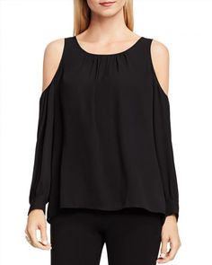 43.61$  Watch here - http://viabo.justgood.pw/vig/item.php?t=i12fsrz31324 - VINCE CAMUTO Cold Shoulder Blouse - 100% Exclusive 43.61$