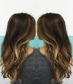 Beautiful balayage ombre highlights. 2015 is the year of the blond and balayage is a great choice if you want an effortless natural sun-kissed style