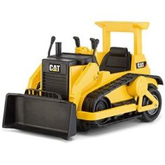 Kid Trax Cat Bulldozer 12 Volt Battery Powered Ride On Cat Bulldozer, Caterpillar Bulldozer, Toy Cars For Kids, Toys For Boys, Kids Toys, Kids Ride On, Ride On Toys, Cat Toys, Vintage Travel Trailers