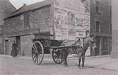 Horse and cart,  Dundee  1880's